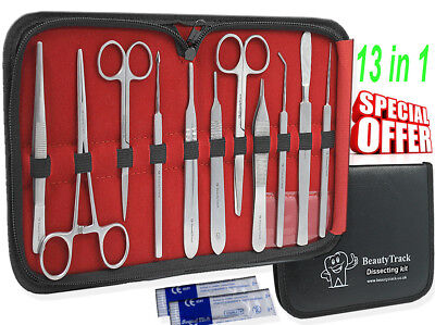 Dissecting Instruments Kit Anatomy Set Medical Surgical Supplies & Lab Equipment