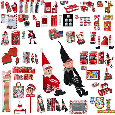 Elf Accessories Props Put On The Shelf Ideas Set Plush Toy Christmas Decoration