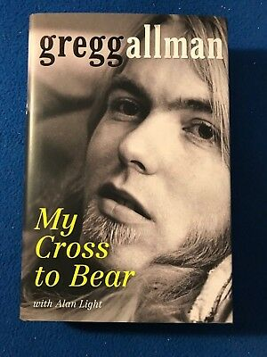 GREGG ALLMAN My Cross To Bear AUTOGRAPHED SIGNED autobiography book PROOF