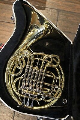 BEAUTIFUL Andreas Eastman EFH420 4 Valve Double French Horn W Case Mouthpiece