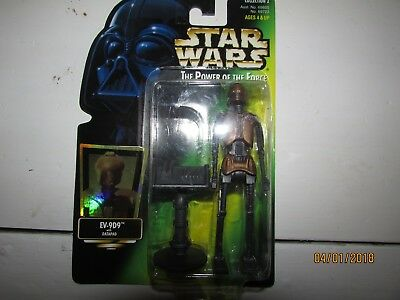 Star Wars Power of The Force EV-9D9 Datapad Jabba Palace New In Box 1997 MIP
