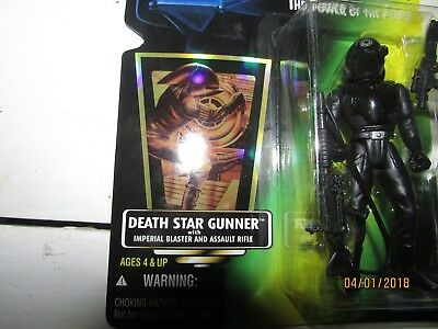 Star Wars Power of The Force Death Star Gunner New In Box 1996 Hasbro Sealed