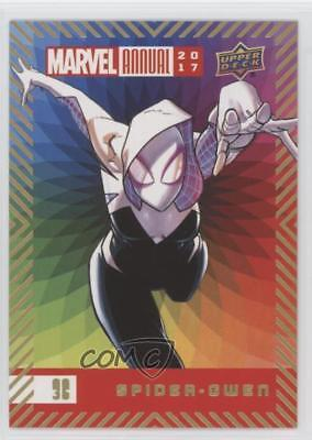 2017 Upper Deck Marvel Annual Color Wheel #36 Spider-Gwen Non-Sports Card 2ps