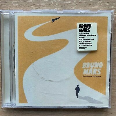 Bruno Mars - Doo-Wops & Hooligans 2011 Rock Pop Album CD
