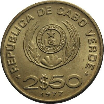 LANZ Cap Verde Portugal 2,50 Escudos 1977 FAO Food for all #WR2043