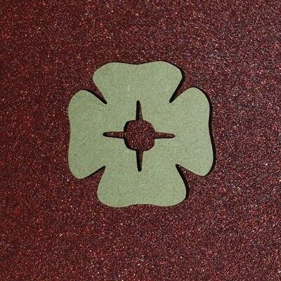 Laser Cut MDF Poppy, pack of 1 or 3 size options Craft, Home Decor,