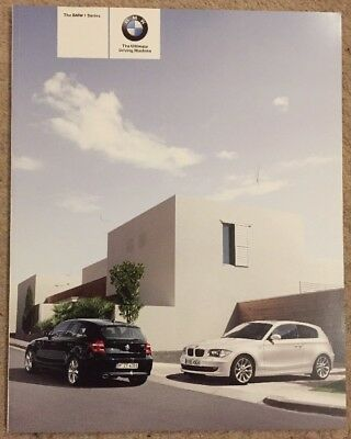The Bmw 1 Series Brochure 2007 New