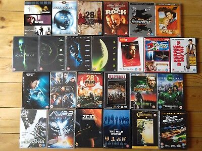 DVD 35 movies: box sets, Classics, Sci-fi, Action,Thriller,Musical,Kids, Western