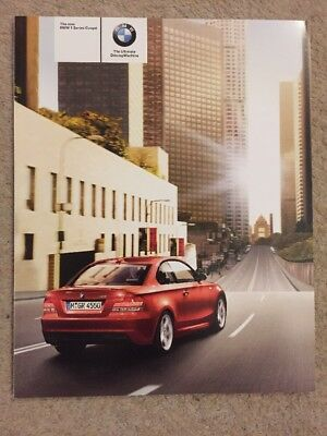 The Bmw 1 Series  Coupe Brochure 2007 New