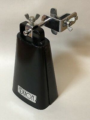 Vintage Dixon Cowbell with fixing clamp - CHS