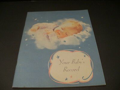 Your Baby Record Book Vintage Nestle's baby book from approximately 1940-1950's