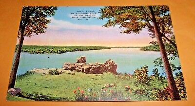 Vintage Lover's Leap, overlooking Lake of the Ozarks Near Camdenton, MO - 31
