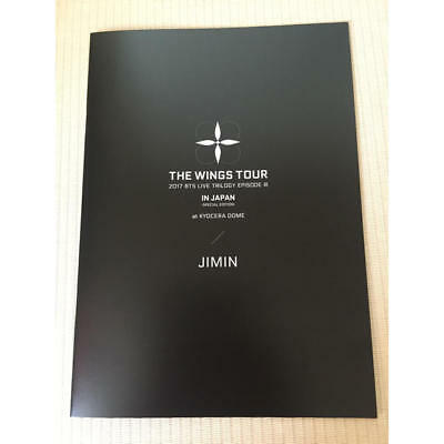 BTS LIVE TRILOGY EPISODE III THE WINGS TOUR Photobook photo book JIMIN ver