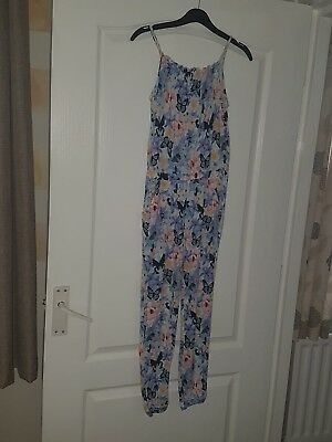 Jumpsuit Floral Age 10-11 Years