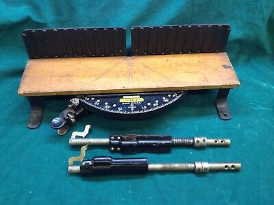 Vintage/ Antique/ old Stanley No. 60 Miter Box, Heavy and very well made in USA