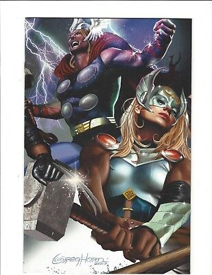 GENERATIONS UNWORTHY THOR & MIGHTY THOR #1 Unknown Comics Horn Virgin Variant NM