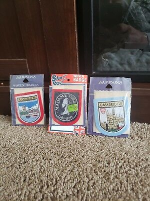 Vintage Sampson's Woven Patches/Badges