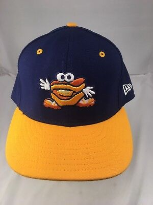 68893a292c1 New Era 59fifty Montgomery Biscuits Minor League Baseball Fitted Hat 7 5 8