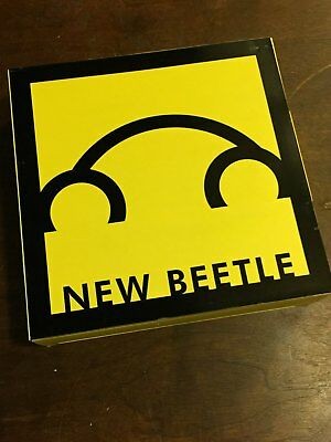 Lot of four Volkswagen press kits Beetle Eos R32