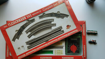 VINTAGE FLEISCHMANN TRAIN SETS 9350 AND 9191 n scale, used, good condition