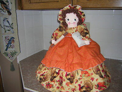 ~~TOASTER COVER DOLL ~~~4-slice~~~THANKSGIVING Theme~~~