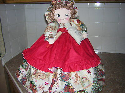 ~~TOASTER COVER DOLL ~~~4-slice~~~CHRISTMAS Theme~~~