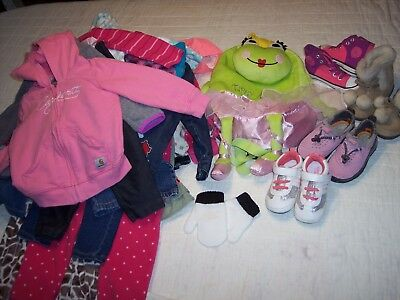 Girls 18 18/24 Month Clothes Lot Pants Old Navy Tcp Outfits Tops Disney Shoes 6