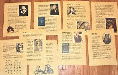 For your Book of Shadows - History of Witches All Your Favorites!!