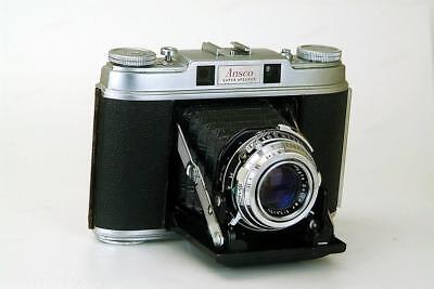 "ANSCO SUPER SPEEDEX  One of The  Very Best 6X6 120 ""Folders"" Ever Made"