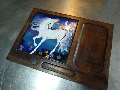 Vintage unicorn Tray