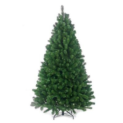 Large Colorado Pine Look Artificial Christmas XMAS Tree Tips with Metal Stand