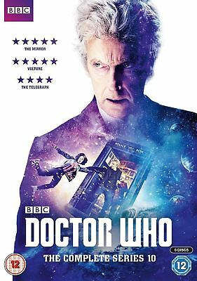 Doctor Who The Complete Series 10 DVD Brand  new sealed  Region 2