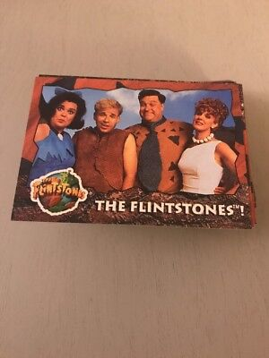 "1993 Topps ""The Flintstones"" Complete Set Of 88 Cards & 11 Stickers"