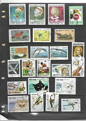 Rep. Vietnam. 1977-1986.selection Of 23. Cancelled To Order. As Per Scan