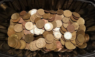 Lqqk!!  Lot Of 65 German Pfennig Coins - Unsearched!!! - #4286