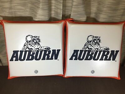 Vintage Auburn University Stadium Seat Cushion - Classic Auburn Tigers Lot of 2