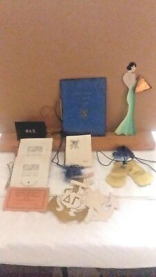 Vintage Lot Of Sorority Dance Or Other Invitations 1936-1941