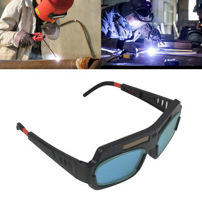 Auto Darkening Solar Powered Welding Goggle Mask Helmet Eyes Welder Glasses