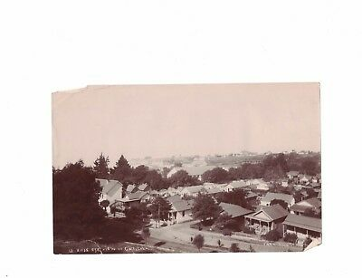 Vintage Glossy Photograph of Capitola Cal Birds Eye View of Capitola Park Photo