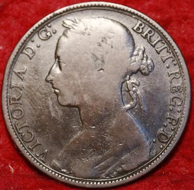 1883 Great Britain One Penny Foreign Coin