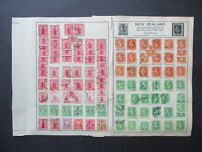 ESTATE: NEW ZEALAND Collection on pages PART 14 - great mix of issues! (5987)