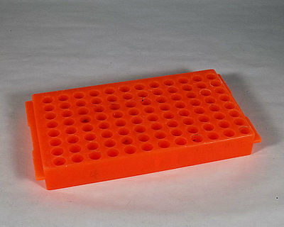 Used 96 Well Double Sided Polypropylene Micro Tube Rack Holder