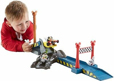 Fisher-Price Disney Mickey & The Roadster Racers Speed 'N Spill Raceway