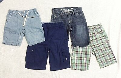 4 X Nautica Country Road Guess Uniqlo Boys Shorts Size 8 Authentic As New Bulk