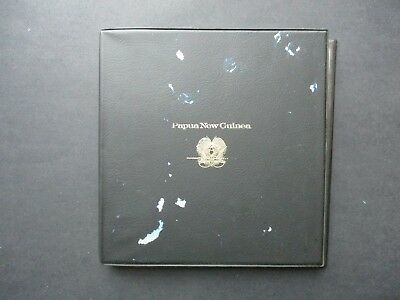 ESTATE: PNG FDC Collection in Album - excellent item (6011)