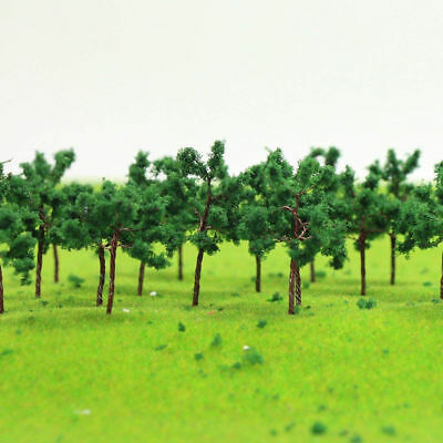 New 30Pcs Life Like Approx 50MM N/Z Scale Poseable Wire Trees