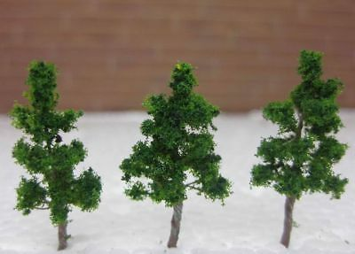 New 30Pcs Life Like Approx 35-38MM N/Z Scale Poseable Wire Trees