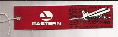 EASTERN AIRLINES 1979 baggage tag mint and unused