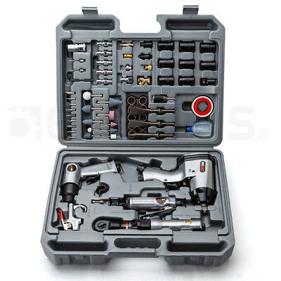 71pc Air Impact Wrench -Ratchet Rattle Gun Pneumatic Tool Set Kit Car