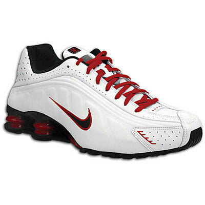 ab866492c5b ... best price brand new nike shox running tennis trainer shoes mens white  red black size 11